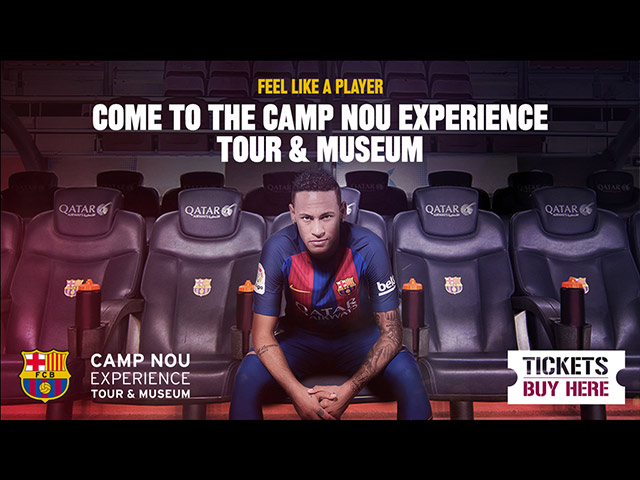 ACYH Camp Nou Ticket